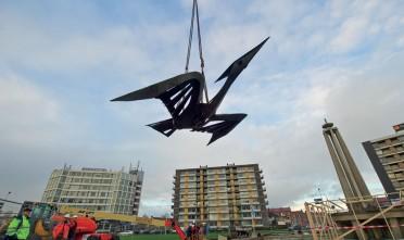 Transformatie Europaplein in volle gang - Foto: Leeuwaren Vrij Baan