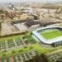 Impressie nieuwe Cambuur stadion