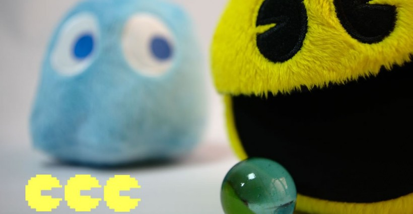 PacMan poppen