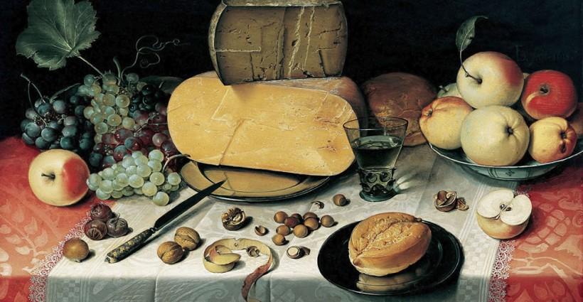 Laatste Tafeltje - Floris Claesz. van Dyck