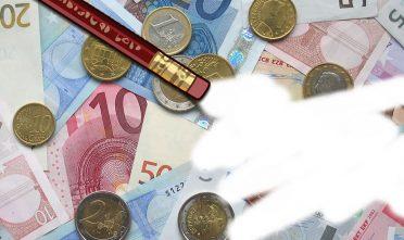 Uitgegumd eurogeld